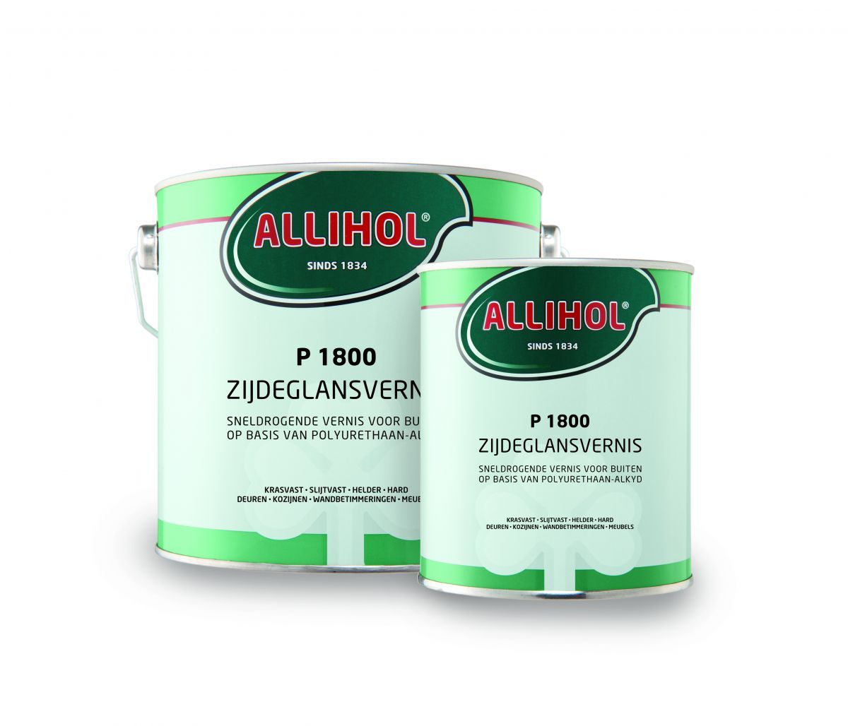 allihol p1800 zijdeglanslak 34 liter