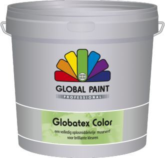 global paint globatex color 10 liter donkere kleur