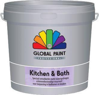 global paint acryl protect 25 liter lichte kleur