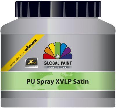 global paint pu spray xvlp satingloss