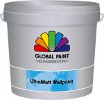 Global Paint UltraMatt Wallpaint 2,5 liter wit