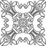 Marmorinotools Stencil 98543 30cmx30cm