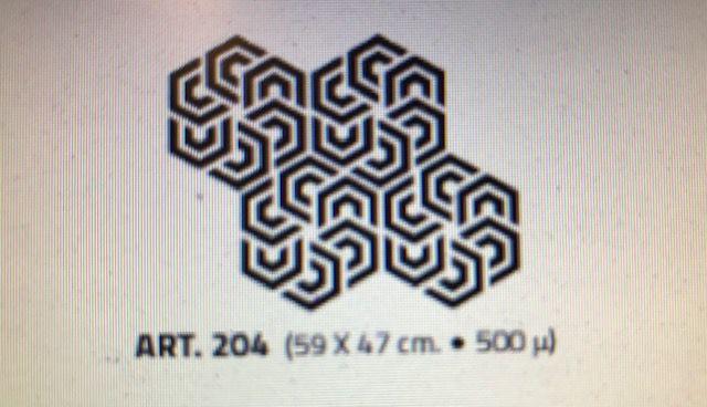 valpaint stuc design stencil 204