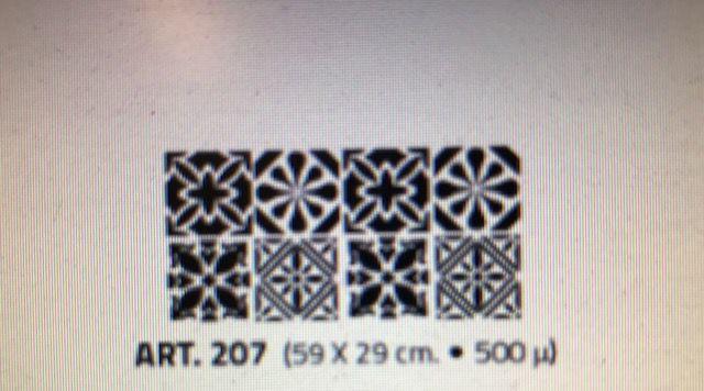 valpaint stuc design stencil 207