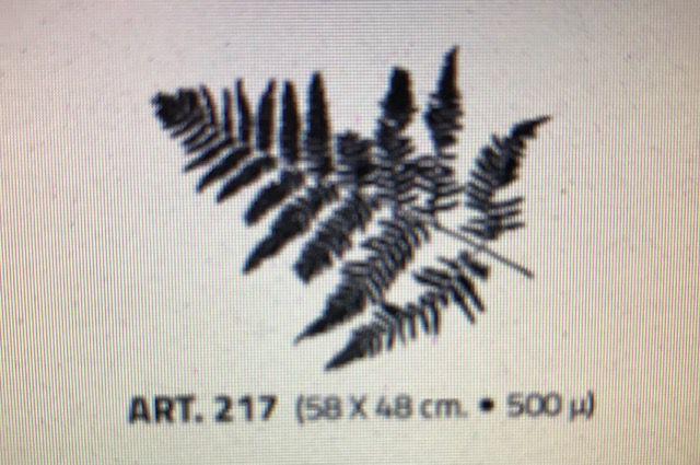 valpaint stuc design stencil 217